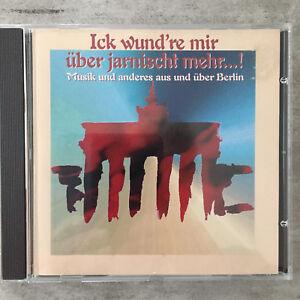 :ICK WUND'RE MIR ÜBER JARNISCHT MEHR ! (CD Duophon 01 31 3 / Promo / neu)