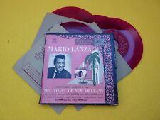 "Mario Lanza The toast of new orleans (VG/EX+/EX+/EX+/EX+) red vinyl 4x 7""   ç"