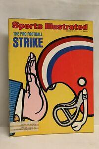 Sports Illustrated August 5, 1974 Pro Football Strike