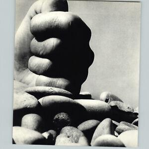 1950s 1961 Bill Brandt The Large Hand Pile Of Pebbles Art Photogravure 16x20