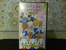 """vhs serie IL TEATRINO - TOPOLINO PAPERINO & COMPANY - """""""""""" NUOVA """""""" UNICA"""