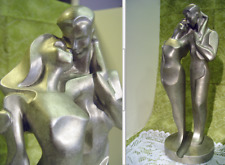 "Austin Productions ""Fluid Caress"" Alexander Danel Signed Sculpture Lovers Nude"