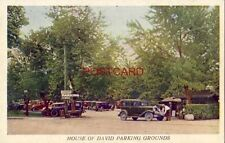 circa 1930 HOUSE OF DAVID PARKING ROUNDS - Benton Harbor, Michigan