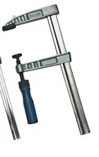 Mannesmann 4 x Adjustable Metal F - Clamp 300mm x 50mm Woodworking Building TUV