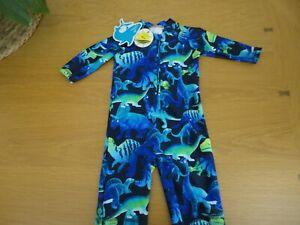 Debenhams Boys UV 40+ Sun Safe Suit 3 6 9 12 months BNWT FREEPOST