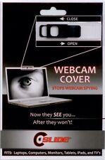 c slide web cam cover in black