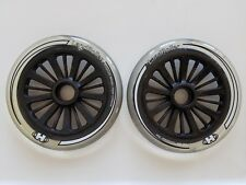 Brand New and Never Used 2 Small Clear Wheels for LandRoller Mojo Skates
