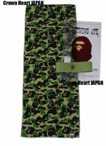 A Bathing Ape ABC CAMO SPORT TOWEL Green Auth fr BAPE gallery Japan LTD New