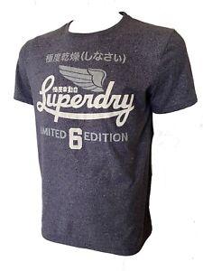 Superdry Premium Label Mens Graphic T Shirt Size XL