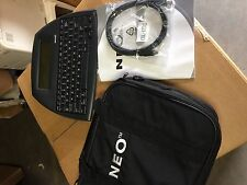 NEO 2 NEO2 AlphaSmart Portable Word Processor Writing Tool Smart Applet Bundle