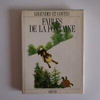 Fables de la Fontaine 1989 GRÜND contes légendes illustrations JIRI TRNKA N7528