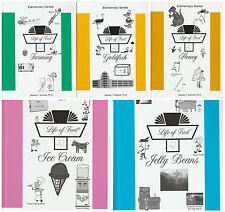 Life of Fred Elementary Set #2: Farming, Goldfish, Honey, Ice Cream, Jelly Beans