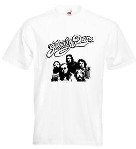 Steely Dan T Shirt Colour: WHITE Size: LARGE *SALE*