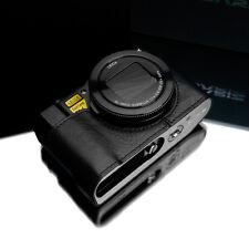 GARIZ Genuine Leather Half Case Panasonic LX10 XS-CHLX10BK Black