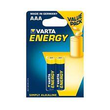 2x VARTA ENERGY AAA German Alkaline Batteries LR03 R3 1.5V EXP:2025