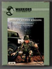 WARRIORS SCALE MODELS 35196 - AMERICAN SOLDIER KNEELING - 1/35 RESIN KIT