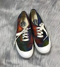 Vintage Keds Womens Made In Korea Rainbow Tie Dye Sneakers Size 7