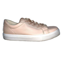 Topshop Womens Sneakers blush pink Copenhagen faux leather rose sneaker Shoes 9