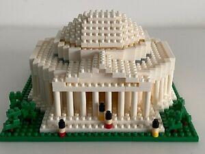Jefferson Memorial Mini Building Blocks Model Washington DC