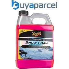 Meguiars 1.89L Ultimate Snow Foam Car Wash Xtreme Cling Wax Safe G191564