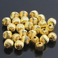 100pcs Gold Plated Spacer Beads