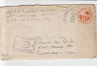 united states 1945 airmail censor  stamps cover ref 19991