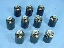 10 Leviton Phenolic Lamp Holders Light Sockets Hickey E26 Medium Base 3352-8