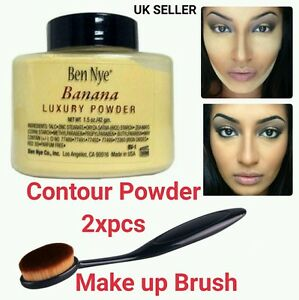 Contour Highlighters Luxury Powder With Make up Brush Super Neutral 42gm