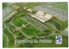 Aeroporto de Palmas Brasil Aviation Postcard, A994