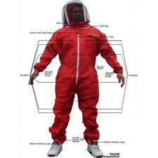 Small Jawadis Red Best Cheap Beekeepers Women's Bee Suits with Fence Veil & Case
