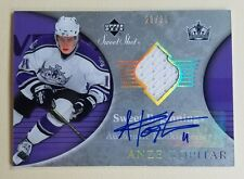 2006-07 UD Sweet Shot #130 Anze Kopitar Kings Rookie Jersey/Auto Card 21/25