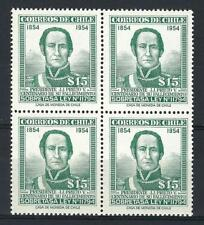 Chile 1957 Sc# QRA1 parsel post President Prieto block 4  MNH