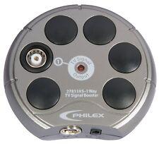 Amplificatori compatta-Philex Tv 1-Way Ripetitore di segnale - 4 G + Alimentatore Regno Unito