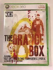 The Orange Box - Xbox 360 - Replacement Case - No Game
