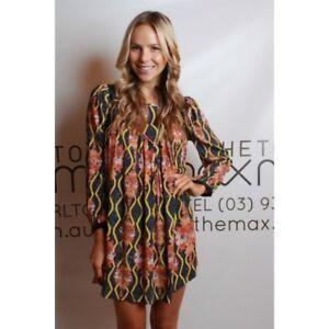 TOI ET MOI - La Branche L/S Dress (TEM1313 - Multi size 6)