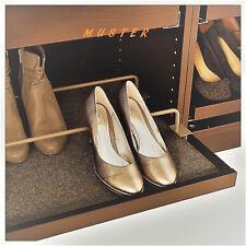 2 unidades ikea complemento zapato vigas para ausziehboden (75x58) en blanco.