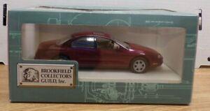 1995 Oldsmobile Aurora Brookfield Collectors Guild Diecast 1:24 041921DBT