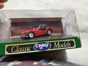 corgi classics triumph TR3A hard top black made in britain model car L1 241 M
