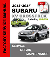 Subaru XV Crosstrek / Hybrid 2013 - 2017 Service Repair Workshop Manual + Wiring