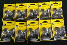 Wholesale Lot of 10 Two(2) GE 3157 Miniature Lamp Bulb 12 volt 12v (20 bulbs)