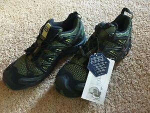 Salomon Men's XA PRO 3D Black/Magnet/Quiet Shade Running Shoes - US 9