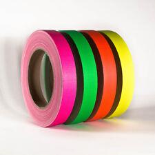 Neonklebeband Neon Gaffa Set Bunt Handreißbar 19 mm x 25 m 4 Rollen