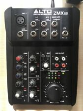 Alto Zephyr ZMX52 5 Channel Compact Studio Band DJ Mixer Mixing Desk ZMX