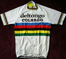 1983 world champ del tongo colnago cycle cycling jersey retro NWT medium large