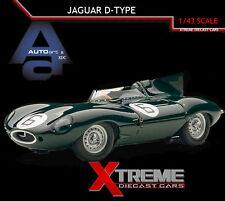AUTOART 65586 1:43 JAGUAR D-TYPE #6 1955 LE MANS WINNER W/OPENINGS DIECAST CAR