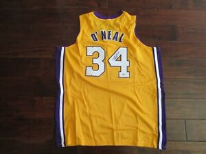 Shaquille O'Neal Signed Auto LA Lakers Jersey - Beckett