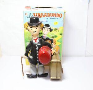 Juguetes Roman El Alegre Vagabundo Charlie Chaplin In Its Original Box - Rare