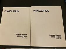 2002 2003 2004 2005 2006 Acura Rsx Service Repair Workshop Shop Manual Factory