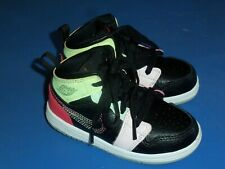 Baby Multi-Color Air Jordan High Top Tennis Shoes – Size 8C – pre own
