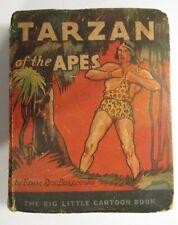 Tarzan of The Apes Big Little Book #744 Whitman Platinum Age 1933